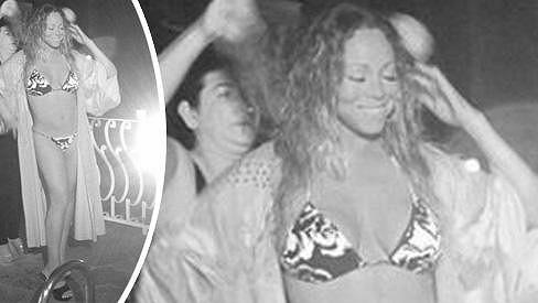 Mariah Carey má postavičku jako lusk.