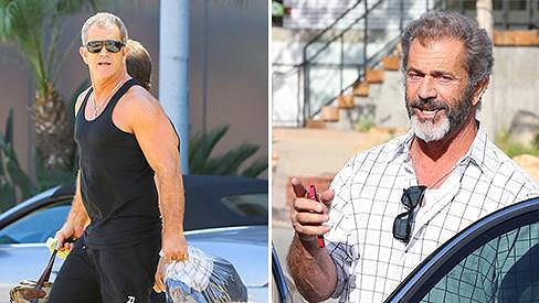 Mel Gibson v létě a nyní...
