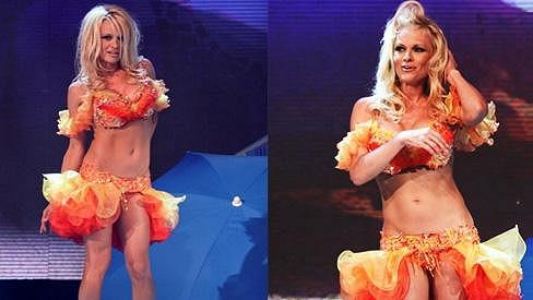 Pamela Anderson je stále velmi přitažlivá.