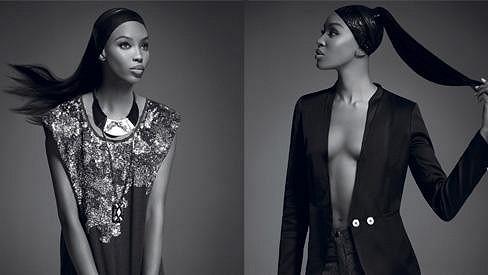 Naomi Campbell vypadá v nové kampani senzačně.