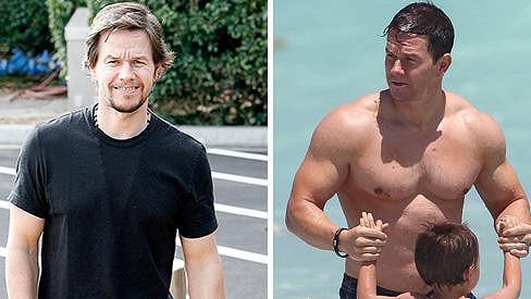Mark Wahlberg už není svalovec.