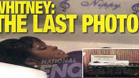 Toto je prý poslední soukromý snímek Whitney Houston.