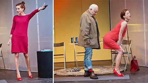 Míša Maurerová na divadelních prknech probudí svou vášeň. A možná i diskuzi, zda není až příliš hubená.