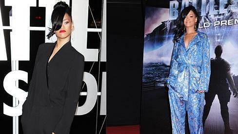 Rihanna si oblíbila modely o několik čísel větší, než potřebuje.