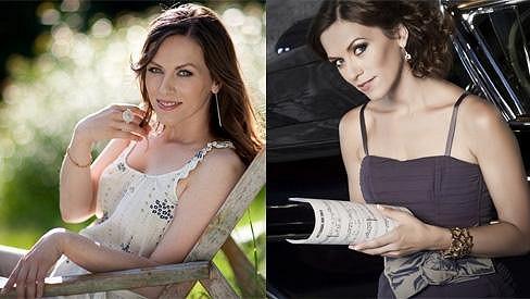 Lucia Lužinská je nejen skvělá zpěvačka, ale i půvabná dáma.
