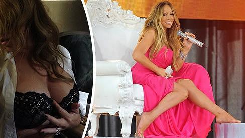 Mariah Carey chtěla potěšit manžela.