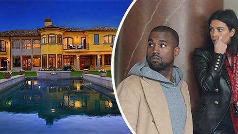 Kim a Kanye hodlají svůj dům vyměnit za něco vhodnějšího...