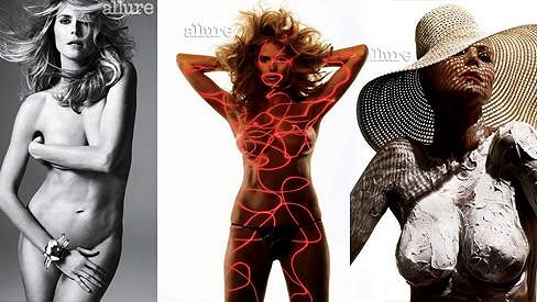 Heidi Klum pro Allure.