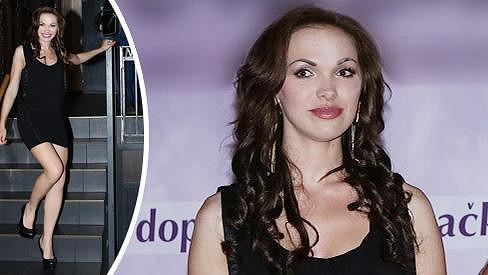 Kamila Nývltová má znatelně zvětšené rty.