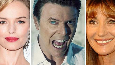 Kate Bosworth, David Bowie a Jane Seymour jsou jen jedněmi z několika celebrit s odlišnou barvou očí.