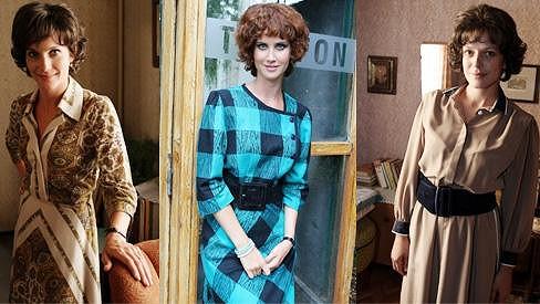 Hana Vagnerová, Jana Bernášková a Andrea Kerestešová vypadají v dobových kostýmech a parukách velmi nezvykle.