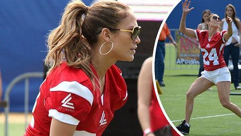 Jennifer Lopez předvedla, že jí sport sluší.
