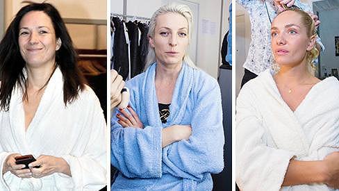 Takto vypadají dámy ze StarDance bez make-upu.