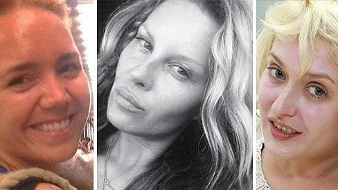 Ne každá celebrita se bojí vyjít na ulici bez make-upu...