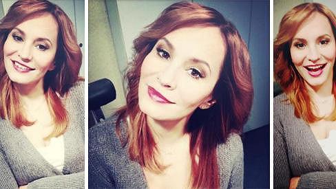 Monika Absolonová začíná rok 2013 s novou vizáží.