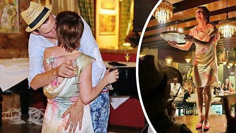 Táňa Vilhelmová přichystala partnerovi překvapení...