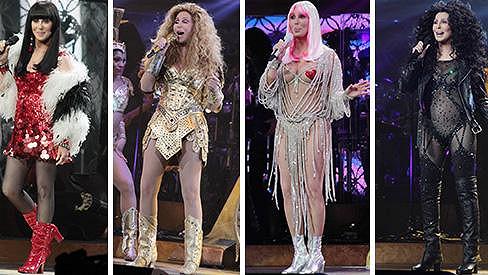 Cher se v Bostonu předvedla jako zamlada.