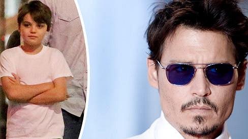Johnny Depp a jeho syn Jack
