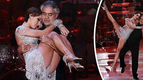 Andrea Bocelli tančí v italské verzi StarDance.