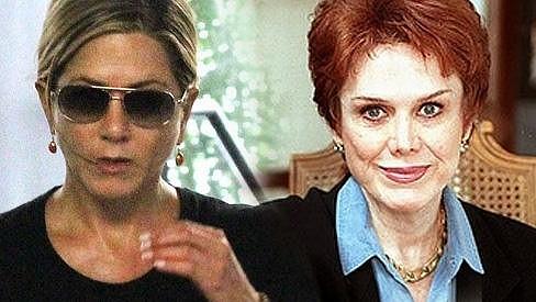 Jennifer Aniston má strach o svou matku Nancy Dow.
