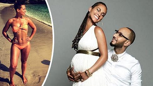 Alicia Keys bude podruhé maminkou, její manžel popáté tatínkem.
