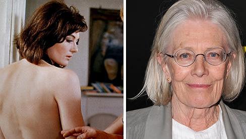 Vanessa Redgrave ve Zvětšenině (1966) a dnes