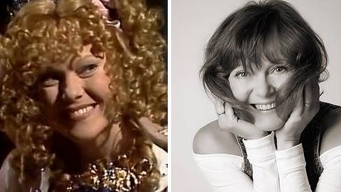 Jarmila Švehlová ve své nejslavnější roli před 29 lety a dnes