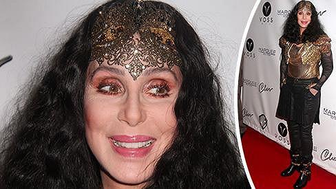 Cher během zahajování newyorského Pride Weeku.