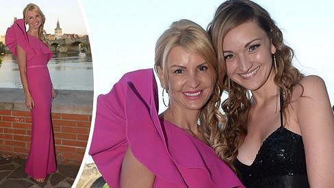 Tamara Kotvalová s dcerou
