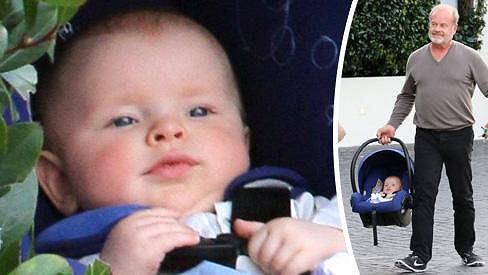 Kelsey Grammer s půlročním synem