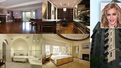 Pokud byste chtěli obývat byt po slavné zpěvačce, můžete si jej zakoupit za 468 miliónů korun.