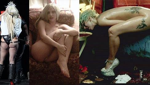 Lady Gaga a její slavné letošní snímky.