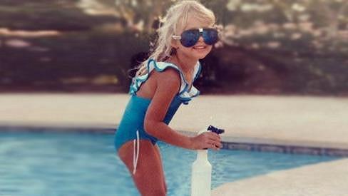 Paris Hilton byla jako malá poměrně roztomilá.