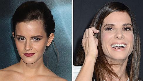 Emma Watson a Sandra Bullock hvězdami premiéry filmu Gravitace