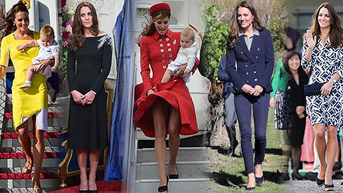 William vévoda z Cambridge - V těchto 8 modelech Kate okouzlovala protinožce.  Dodržuje protokol 04e783a61d