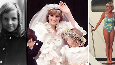 Jak šel čas s princeznou Dianou...