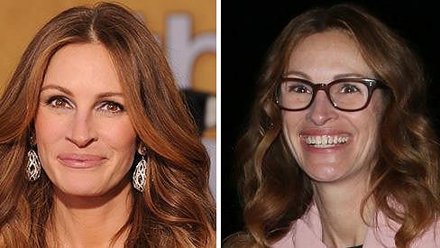 Dvě podoby slavné herečky