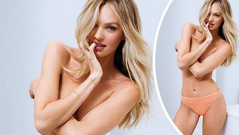 Candice Swanepoel v kampani pro Victoria's Secret