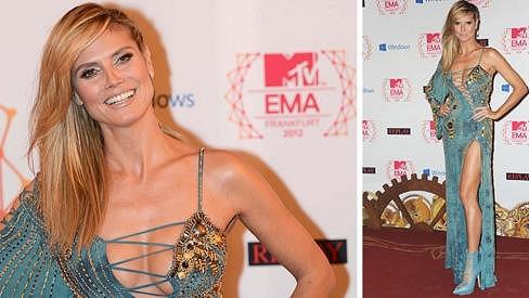 Heidi vypadala na MTV Europe Music Awards úchvatně.