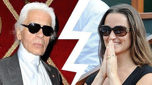 Karl Lagerfeld se obul do Pippy Middleton.