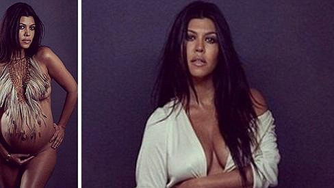 Kourtney Kardashian pro magazín Du Jour
