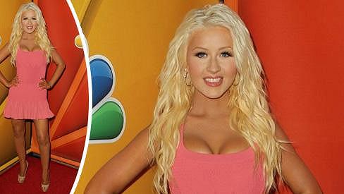 Christina výrazně pohubla.