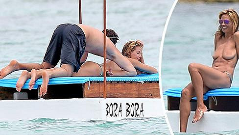 Heidi Klum provokovala sexy postavou svého kolouška.