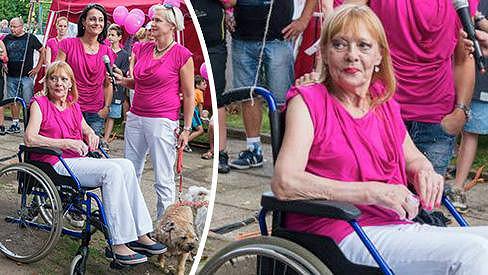 Jana Šulcová se zotavuje po operaci.