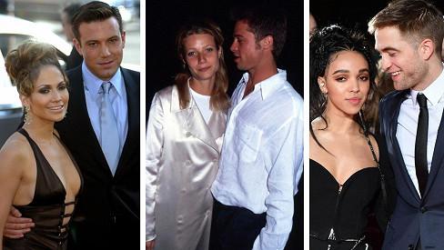 Hvězdné hollywoodské randění, zatímco se oženil