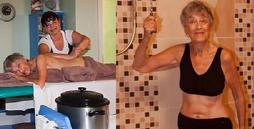Luba Skořepová (91) odložila šaty. Ten věk by jí nikdo nehádal!