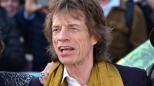 Mick Jagger očekává osmého potomka.
