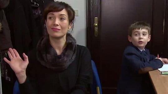 Tereza Kostková je na Toníka pyšná.