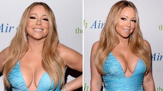 Mariah Carey vystavila své ženské zbraně.