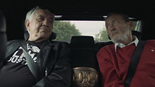 Jiří Krampol a Ladislav Frej spolu točili film Stáří není pro sraby.